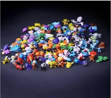 Pokemones ফিগার টয় কালেকশন (24 pieces )