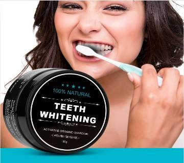 Oral Teeth Whitening Powder + Brush free