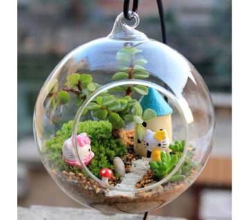 Terrarium Ball Globe Shape Flower Vase