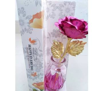 Flower Shape Glass Jar
