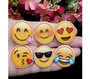 10 pcs/Lot Mixed Emoji Symbol Planar