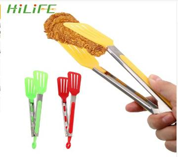 Non-Stick Kitchen Tongs Stainless Steel Handle