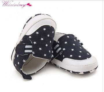 Boys Girls Anti-Slip Slip-On Sneakers Shoes for (6-9Months baby)