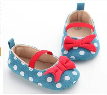 Girls Anti-Slip Slip-On Sneakers Shoes for (9-12Months baby)