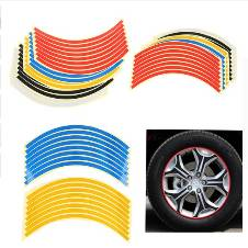 Car Tyre Rim Stickers