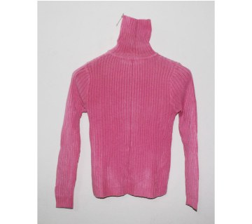 Ladies High Neck Sweater