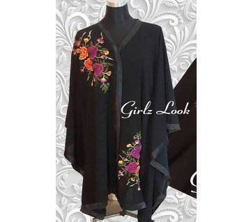 Stitched Double Georgette Abaya