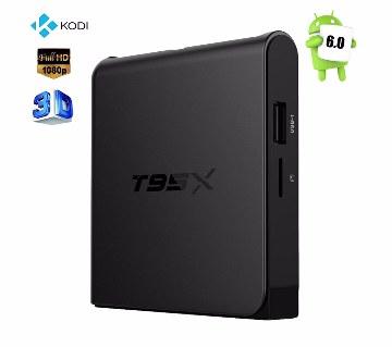 অ্যান্ড্রয়েড 6.0 টিভি বক্স T95X -2GB