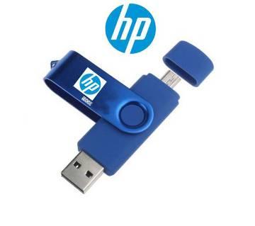 16GB HP USB3.0 OTG & USB Pendrive