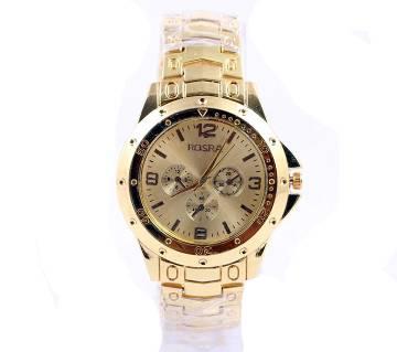 Rosra Gold Gents Wristwatch