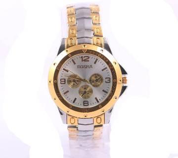 Rosra Gold 2 Gents Wristwatch
