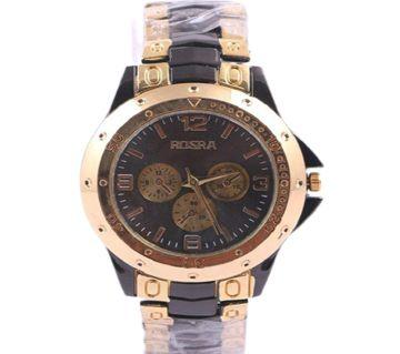 Rosra Gold Stripe Gents Wristwatch