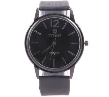 Titan Black copy Gents Wristwatch
