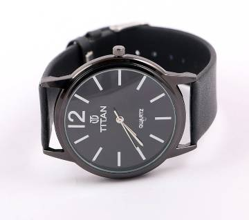Titan Black Tiger copy Gents Wristwatch