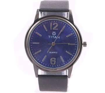Titan Blue Gun copy Gents Wristwatch