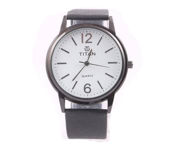 Titan White copy Gents Wristwatch