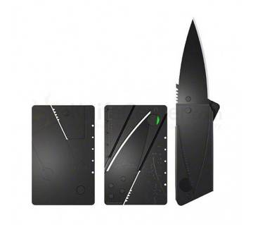 Credit Card Army Folding Knife