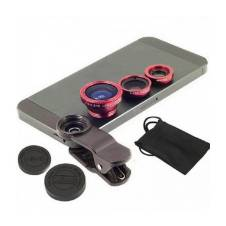 Universal Mobile Clip-on Lens With 3-in-1 Effect