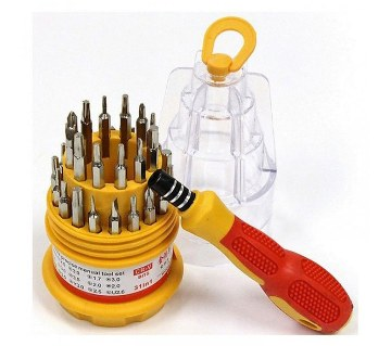 31-in-1 Screwdriver Tool Set