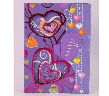Beautiful SweetHeart  Secret Diary with Lock -02