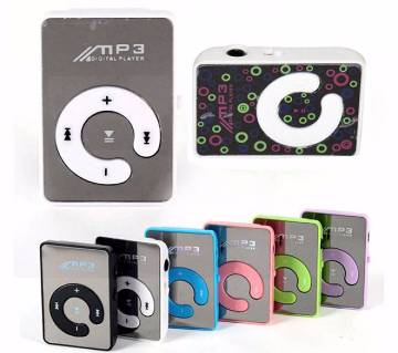 Mini Mirror Clip USB Digital Mp3 Music Player
