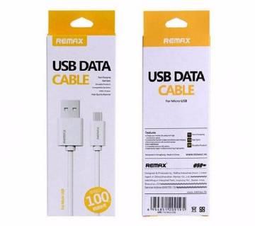 Remax মাইক্রো USB ফাস্ট চার্জিং ডাটা ক্যাবল