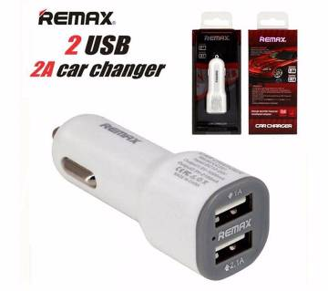 2 in 1 Remax USB CAR Charger