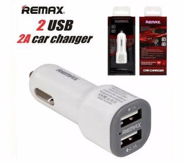 2 in 1 Remax USB CAR চার্জার