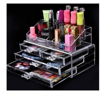 Cosmetics organizer Box - Transparent