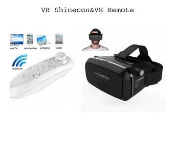 Shinecon Version 2 VR বক্স+VR রিমোট