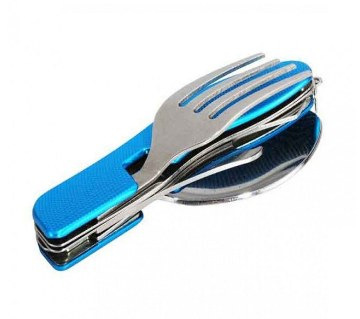4 in 1 multi tool fork spoon (1pc)