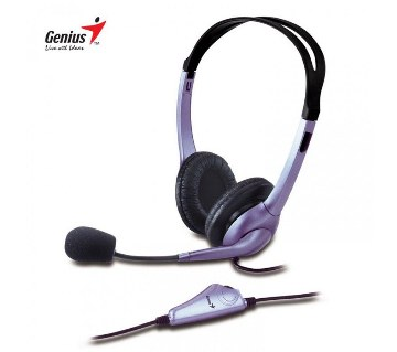 Genius HS-04S Noise Canceling Microphone headphone