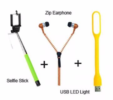 3 in 1 Combo Accessories
