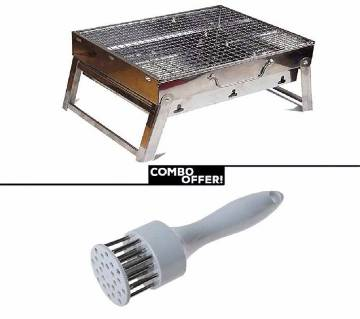 Meat Tenderizer+BBQ grill maker combo offer