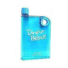 Notebook Water Bottle (380ml) - Sky Blue
