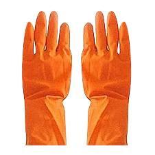 Half Hand Kitchen Gloves (One Pair) - Orange