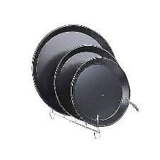 3 Pieces Pizza Pan Set - Black