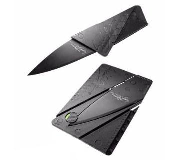 Credit Card Shaped Folding knife