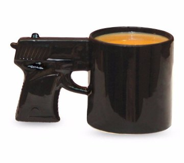 Gun Shaped Coffee Mug