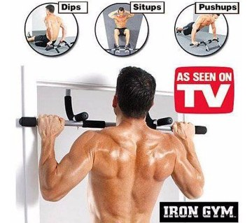 Iron Gym Upper Body Work Out Bar