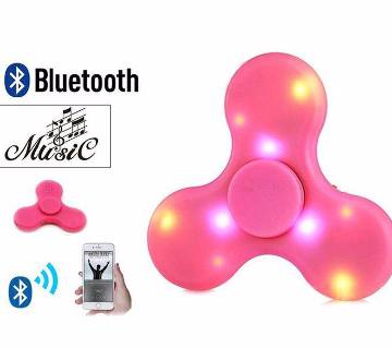 Fidget Spinner with LED Light & Bluetooth Speaker