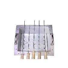 BBQ Stand with 5 Stick - Silver