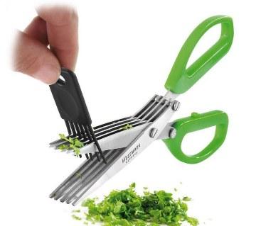 Vegetable Cutting Scissor (5 Bladed)