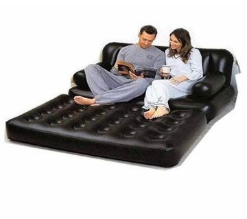 5 In 1 inflatable air Sofa Bed Cum Bed