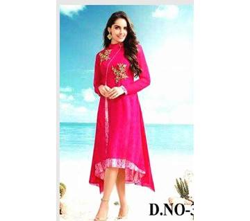 Unstiched Embroidery Georgette three piece (Copy)
