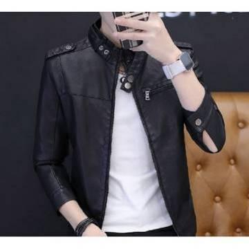 Gents PU Leather Jacket