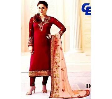Unstitched Georgette Embroidery Three Pieces (Copy)