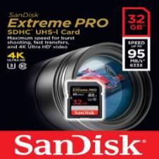 San disk 32 GB SD SDXC Card 95MB/s Class 10 - Copy