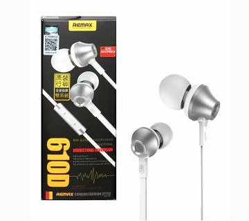 REMAX RM-610D Wired Super Base Earphone