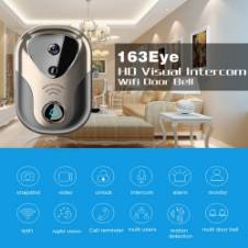 163Eye L1-NJ Smart Visual WIFI 1.3MP Network HD Intercom Doorbell , Support Micro SD Card & Night Vision